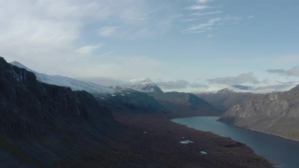 Mountain Landscape Aerial