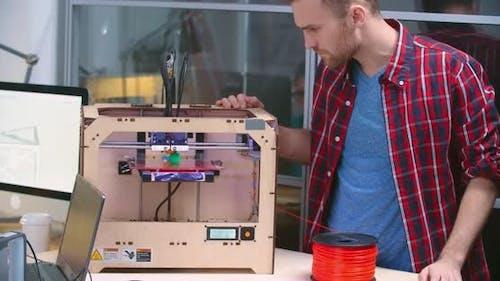 Observing 3D printing Process