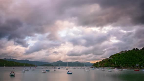 Thumbnail for Picton New Zealand Time Lapse