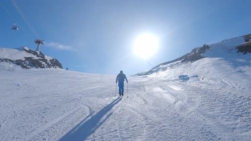 Cross Skiing