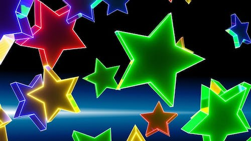 Star Rotation Is Multicolored HD ProRes