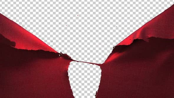 Thumbnail for Red Cloth Tearing Opening 02