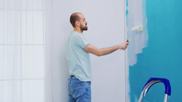 Repaint Apartment Wall