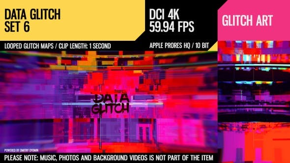 Thumbnail for Data Glitch (4K Set 6)