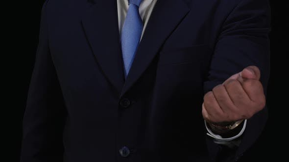 Thumbnail for Business Man Hand Open Reveal
