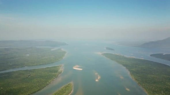 Thumbnail for Aerial View on Mangrove Forest in Thailand