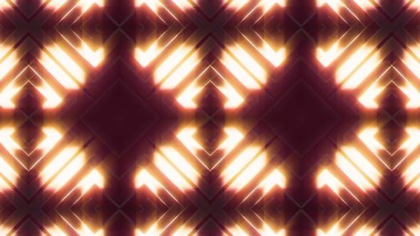 Visual Neon Light 3D Glow Shape Background V1