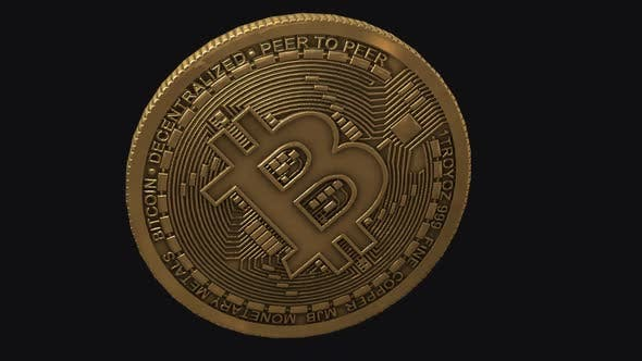 Thumbnail for Bitcoin - Transition - V - Alpha Channel