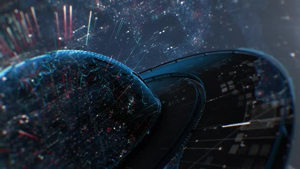 Thumbnail for News Background Ringed Planet