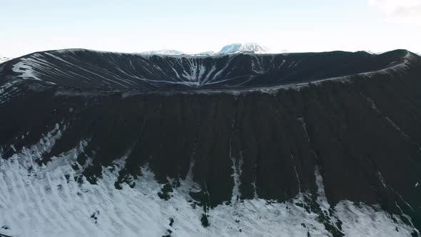 Thumbnail for Hverfjall or Hverfell - Extinct Volcano Located in the Iceland, Lake Myvatn.