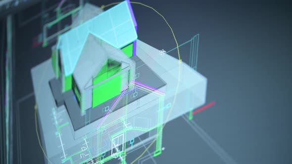 Residential Building Project 3D Design