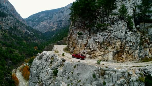 Thumbnail for Jeeps Climb Stone Road