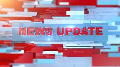 Broadcast News Update Opener