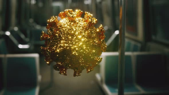 Thumbnail for Coronavirus Covid-19 Epidemic in Subway Car
