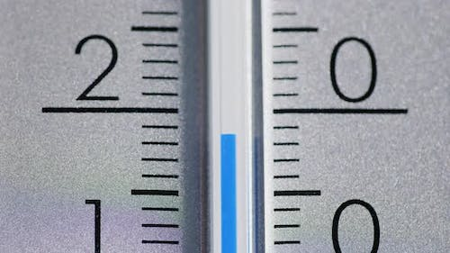 The Temperature Increases on the Thermometer Scale