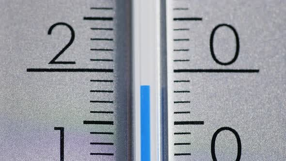 Thumbnail for The Temperature Increases on the Thermometer Scale