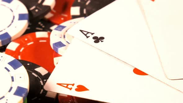 Thumbnail for Gambling Money Chips And Poker Cards 7