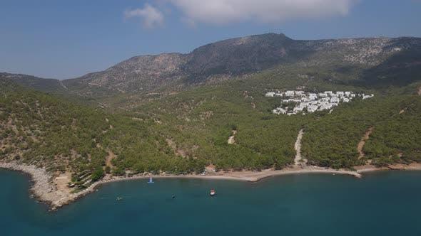 Resort Site Aerial Drone