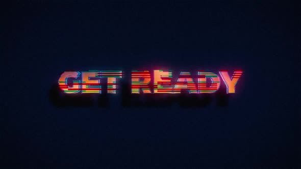 Videogame Get Ready Screen