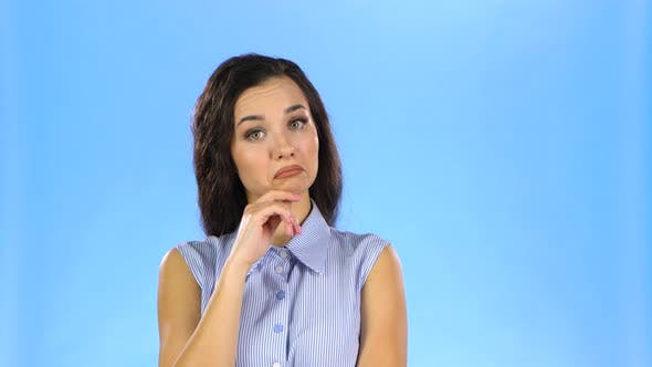 Thumbnail for Pretty Young Woman Is Attentively Listening and Agree with Idea