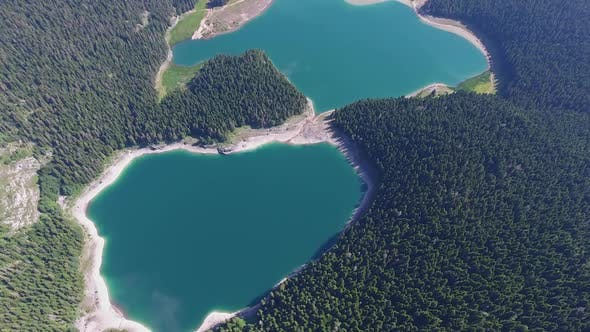 Thumbnail for Aerial View of Black Lake in Durmitor, Montenegro