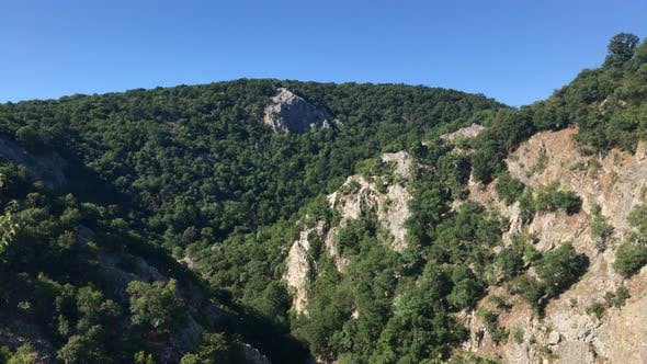 Thumbnail for Forests and hills characteristic  for Balkans 3840X2160 UltraHD footage - Cliffs and nature of Serbi