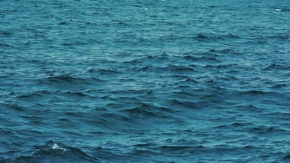 Thumbnail for Pond surface background. Background shot of aqua sea water surface