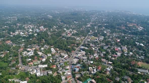 High Flyover South Asian City