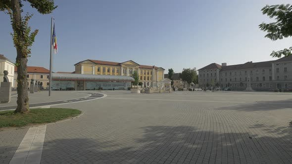 The Citadel Square in Alba Iulia