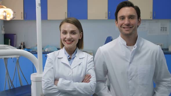 Thumbnail for Medical Staff Smiling at Camera with Radiant Smile