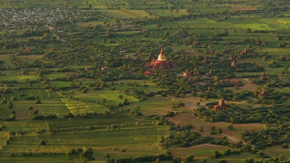 Thumbnail for Flying over the amazing landscape of Myanmar