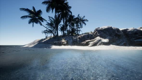 Thumbnail for Tropical Island of Maldives in Ocean