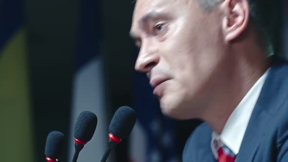 Thumbnail for Presidential Candidate Speaking Passionately