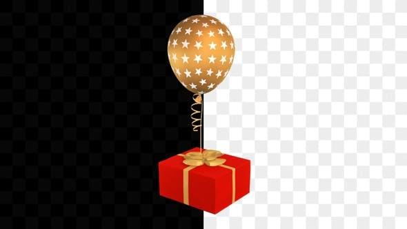 Thumbnail for Gift Box Balloon