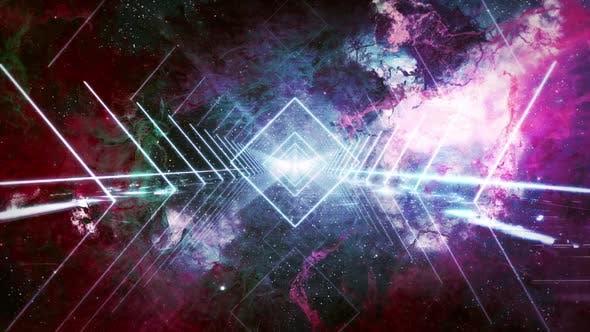 Nebula Bridge Neon Light Loop