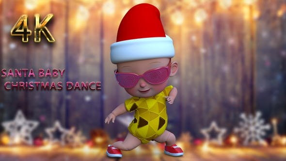 Thumbnail for Santa baby cristmas dance