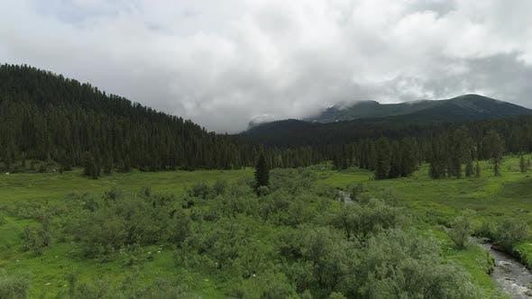 4k Natural Park Ergaki