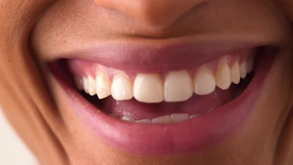 Thumbnail for African American woman smiling and laughing