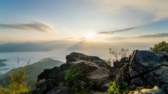 Thumbnail for Sunrise At Fog Mountain