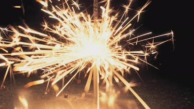 Pyrotechnics Sparkler Firework