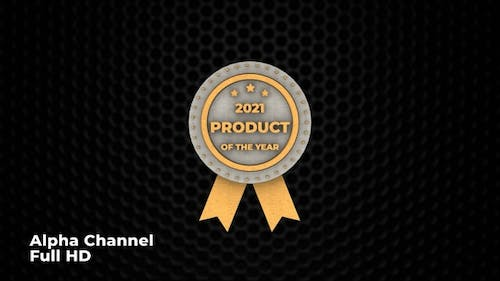 3D Product Of The Year Seal 2021