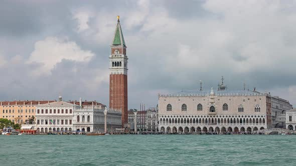 Thumbnail for Timelapse of Doge's Palace, Venice