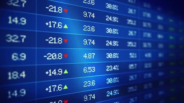 Thumbnail for Stock Market Data Tickerboard