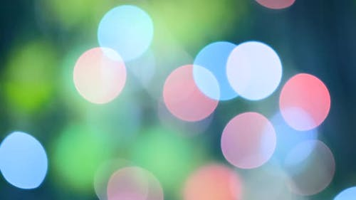 Colorful Bokeh Background. Abstract Colored Blurred Light Effect for using in your composition