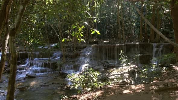 Thumbnail for Huai Mae Khamin Waterfall in Thailand