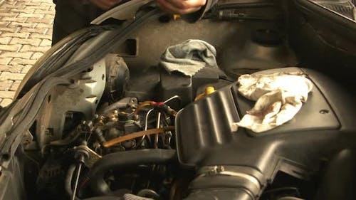 Auto Ölsteuerung