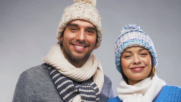 Thumbnail for Happy Couple in Winter Clothes 1