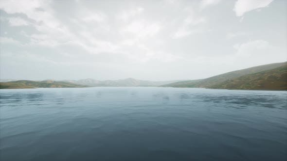 Thumbnail for Lake in Hills on Summer Day