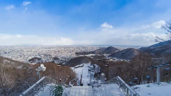 Thumbnail for Ski Jump Stadium In Winter