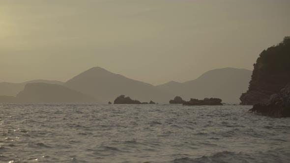 Thumbnail for Mountains and the Sea. Coastal Landscape. Montenegro